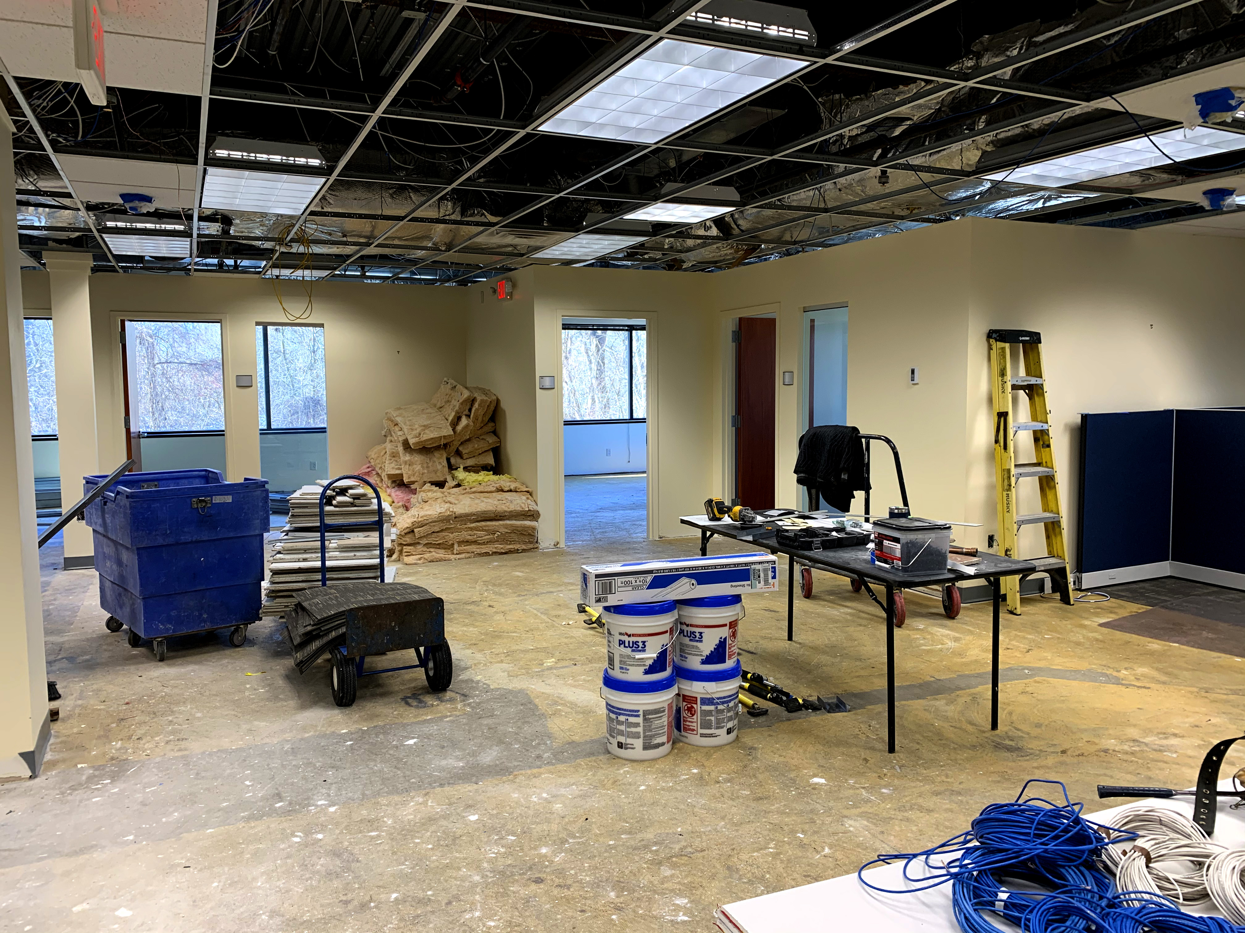 Construction at Diversified Office